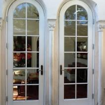 Borano Doors Cedar Entry Church Custom Exterior Wood Elegant Front